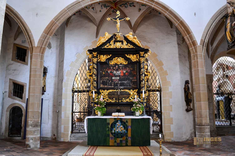 Altar Dom St. Marien zu Freiberg