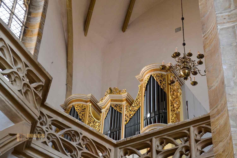Kleine Silbermann-Orgel Dom St. Marien zu Freiberg