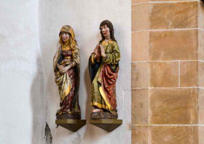 Törichte und kluge Jungfrauen Dom St. Marien zu Freiberg