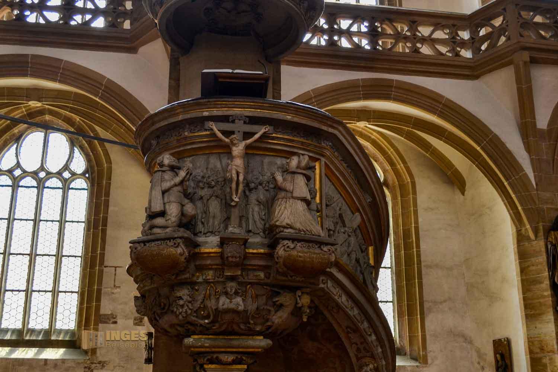 Bergmannskanzel Dom St. Marien zu Freiberg
