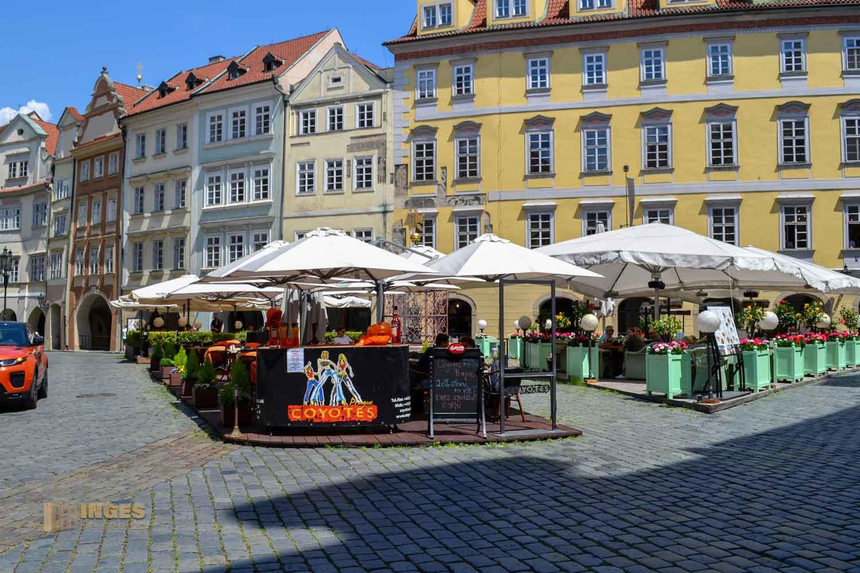 Kleiner Ring in der Prager Altstadt