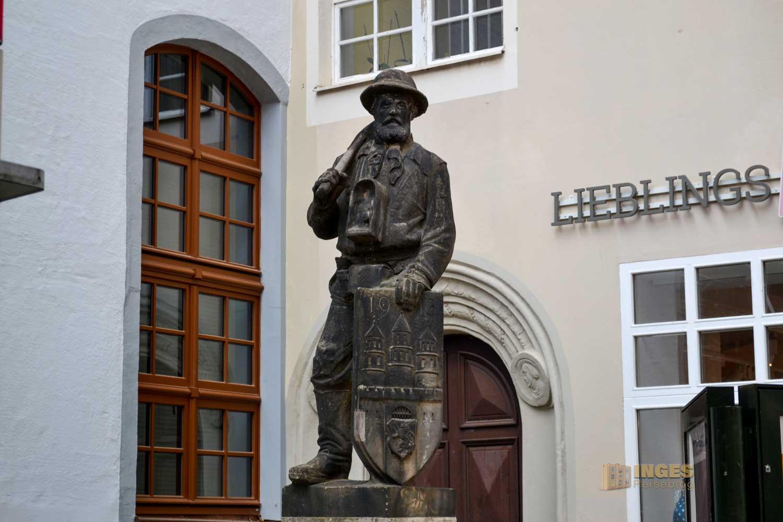 Bergmannsdenkmal Silberstadt Freiberg