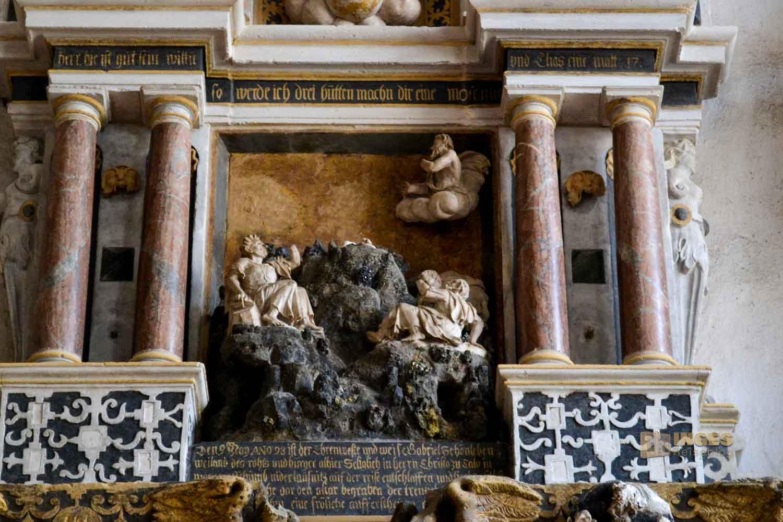 Grabdenkmale im Dom St. Marien zu Freiberg