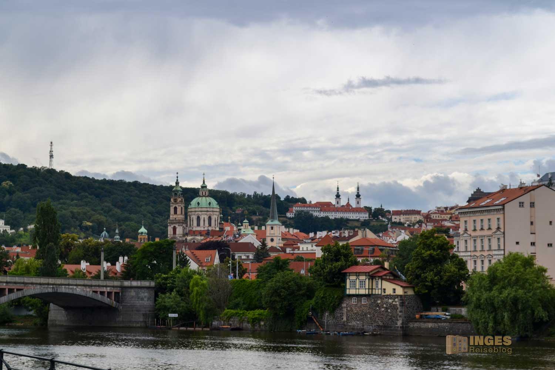 Blick auf die Kleinseite Prag
