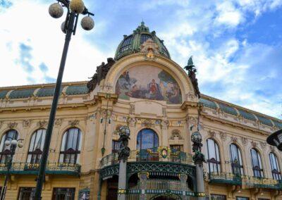 Gemeindehaus in der Prager Altstadt