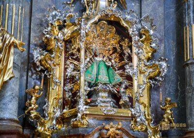 Das Prager Jesulein in der Kirche Maria vom Siege
