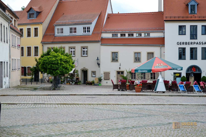 Untermarkt Silberstadt Freiberg