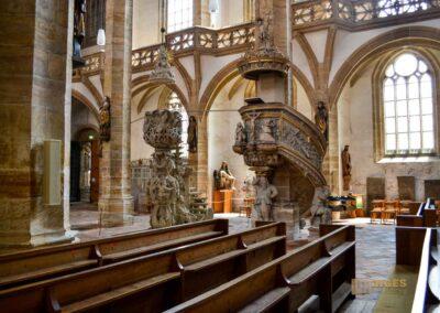 Tulpenkanzel und Bergmannskanzel Dom St. Marien zu Freiberg