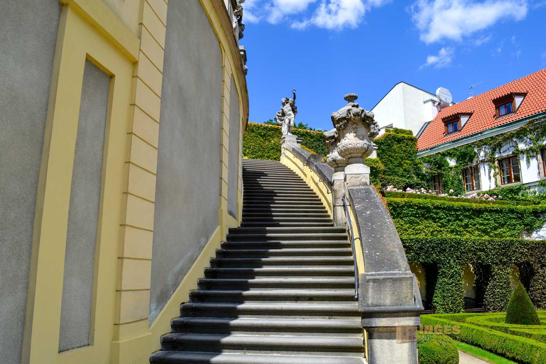 Vrtba-Garten (Vrtbovská zahrada) auf der Prager Kleinseite