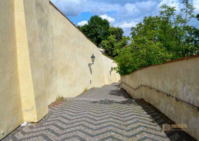 Weg zur Prager Burg