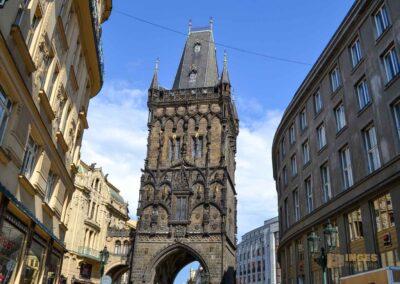 Pulverturm am Gemeindehaus in der Prager Altstadt