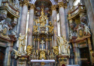 St. Nikolaus Kirche auf der Prager Kleinseite