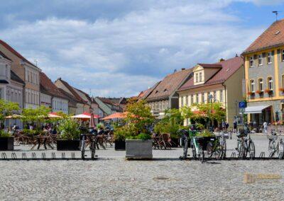 Marktplatz in Lübbenau im Spreewald