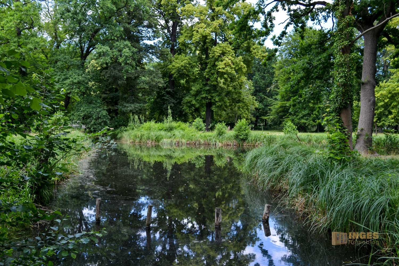 Schlosspark Lübbenau im Spreewald