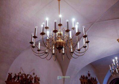 Hasensaal auf Schloss Augustusburg