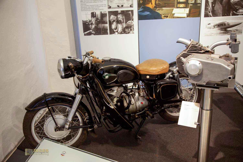 Motorradmuseum auf Schloss Augustusburg