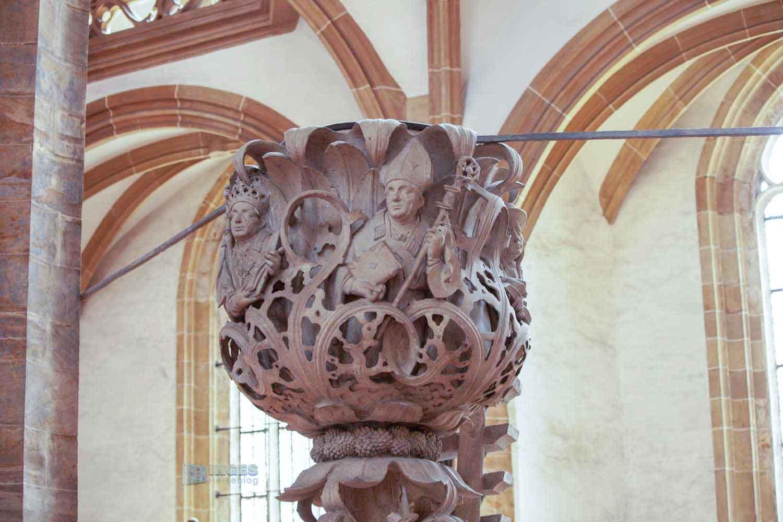 Tulpenkanzel Dom St. Marien zu Freiberg