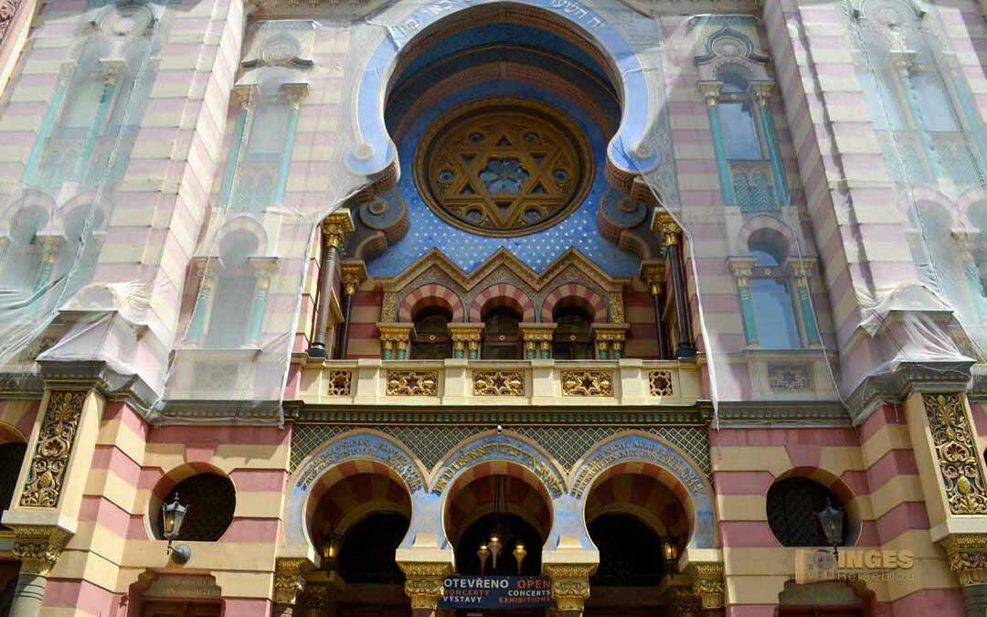 Die Jerusalem-Synagoge in Prag