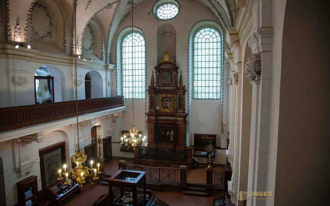 Die Klausen-Synagoge im Jüdischen Viertel in Prag