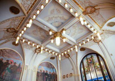 Der Rieger-Saal im Gemeindehaus in Prag