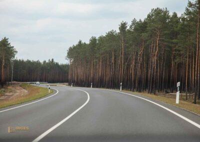 Anfahrt in den Spreewald