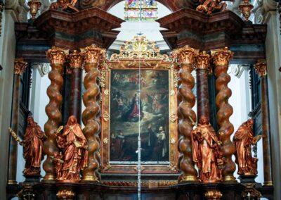 Kirche Maria vom Siege (Kostel Panny Marie Vítězné) auf der Prager Kleinseite