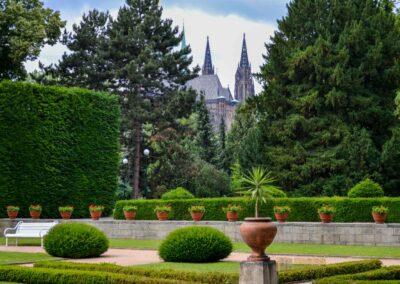 Königsgarten bei der Prager Burg