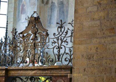Ludmilla-Kapelle in der St.-Georgs-Basilika auf der Prager Burg