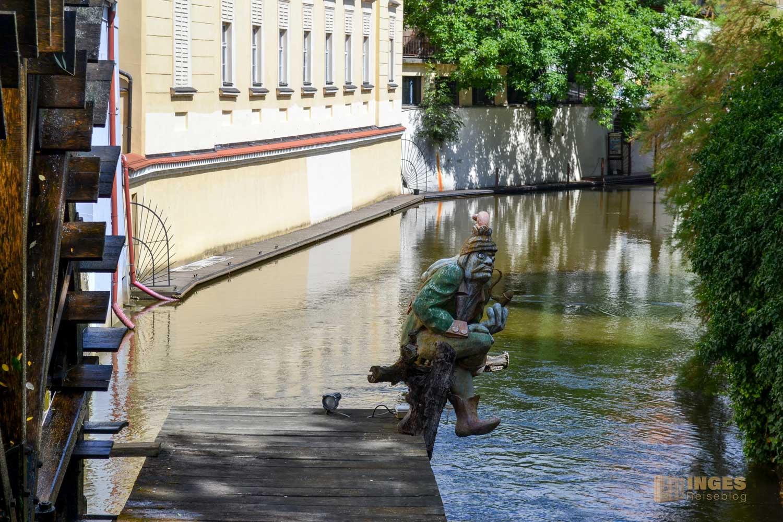 Kampa auf der Prager Kleinseite (Malá Strana)