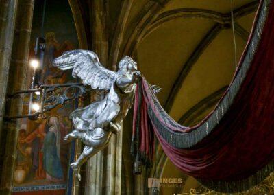 Grabmal des Hl. Johannes Nepomuk im St. Veits Dom in Prag
