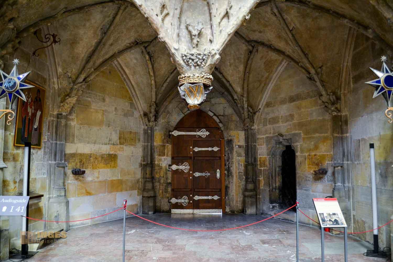 königliches Oratorium im Veitsdom in Prag