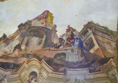 Deckengemälde in der St.-Nikolaus-Kirche auf der Prager Kleinseite