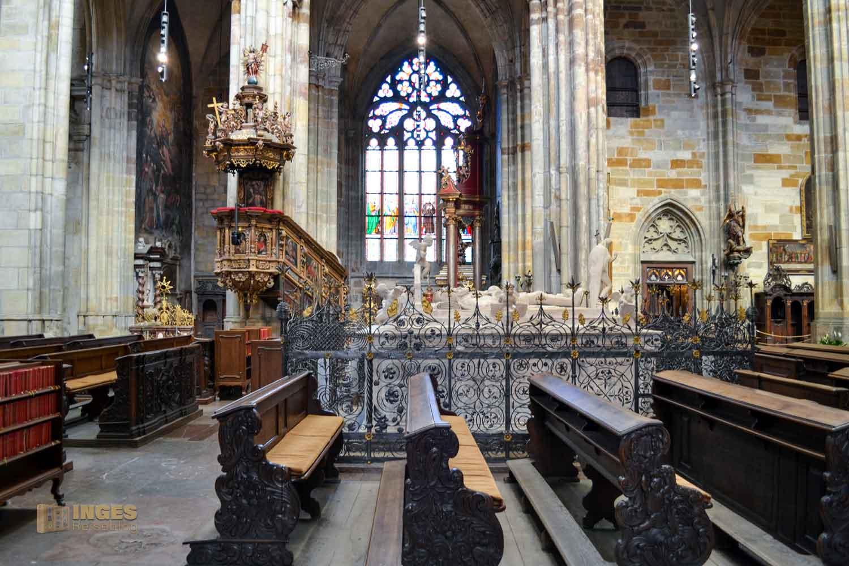 Habsburger Mausoleum im Veitsdom in Prag