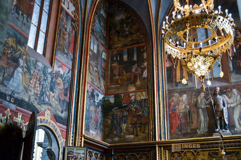 Wenzelskapelle im Veitsdom in Prag