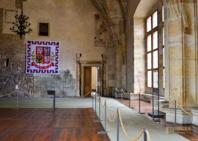 der Vladislav Saal im Alten Königspalast auf der Prager Burg
