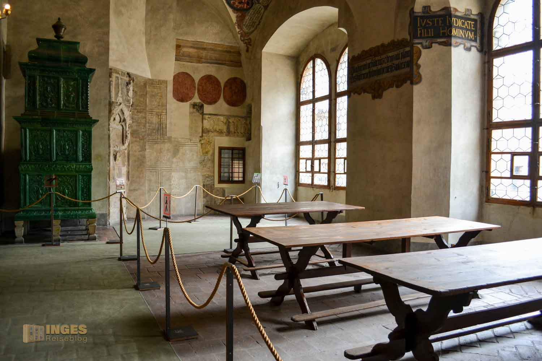 Im Alten Königspalast auf der Prager Burg