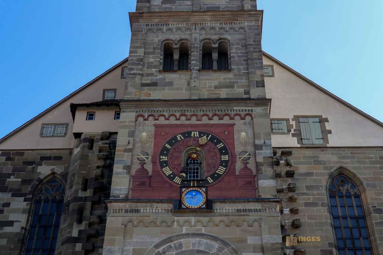 Astronomische Uhr Kirche St. Michael in Schwäbisch Hall