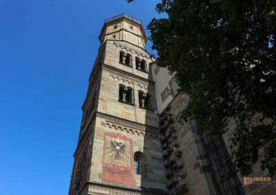 Turm Kirche St. Michael in Schwäbisch Hall