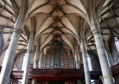 Orgel in der Kirche St. Michael in Schwäbisch Hall