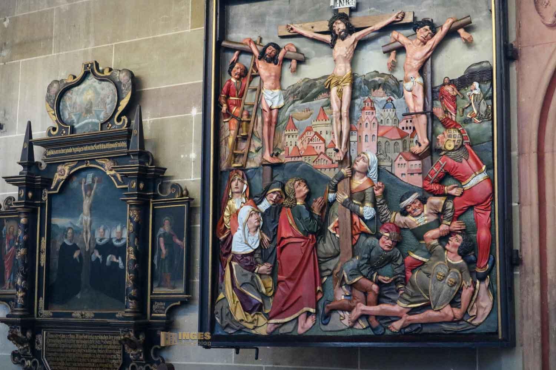 Hl. Grab in der Kirche St. Michael in Schwäbisch Hall