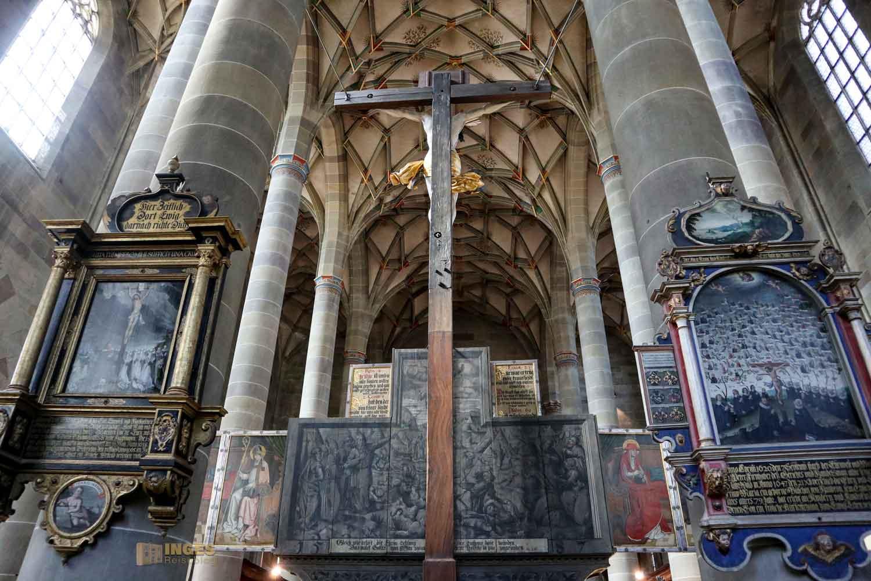 Hochaltar in der Kirche St. Michael in Schwäbisch Hall