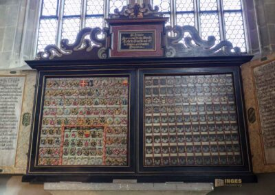Grabdenkmale in der Kirche St. Michael in Schwäbisch Hall