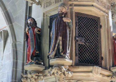 Sakramentshaus in der Kirche St. Michael in Schwäbisch Hall