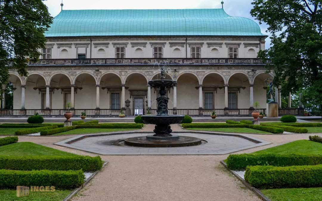 Königsgarten mit Lustschloss bei der Prager Burg