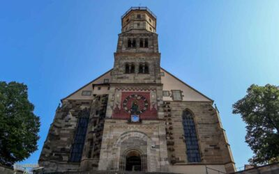 In der Kirche St. Michael in Schwäbisch Hall