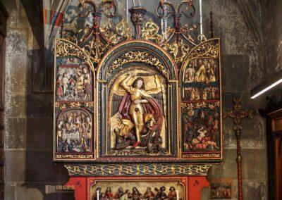 Altar Michaelskapelle in der Kirche St. Michael in Schwäbisch Hall