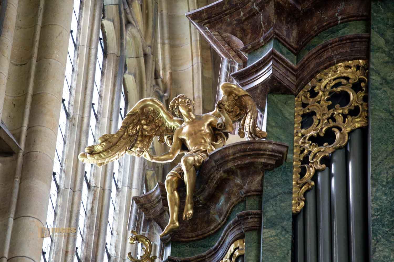 Orgeln im Veitsdom in Prag