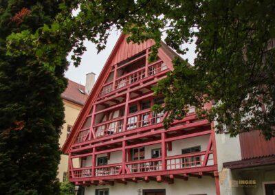 Gerberviertel in Nördlingen