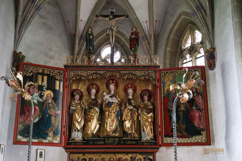 Altar in der Ulrichskapelle im Kloster Adelberg