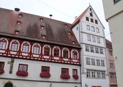 Brot- und Tanzhaus und Hohe Haus in Nördlingen
